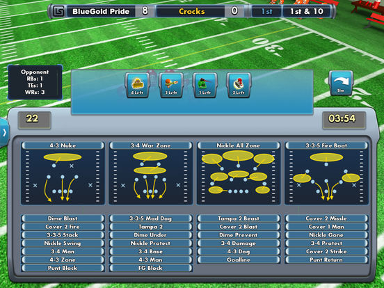 Bobblehead College Football Screenshot
