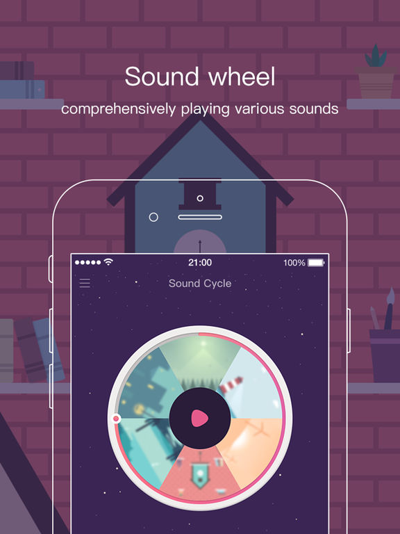 Sound Cycle - Listen to inner peace Screenshots