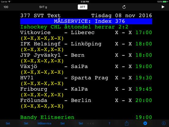 TextTV iPad Screenshot 1