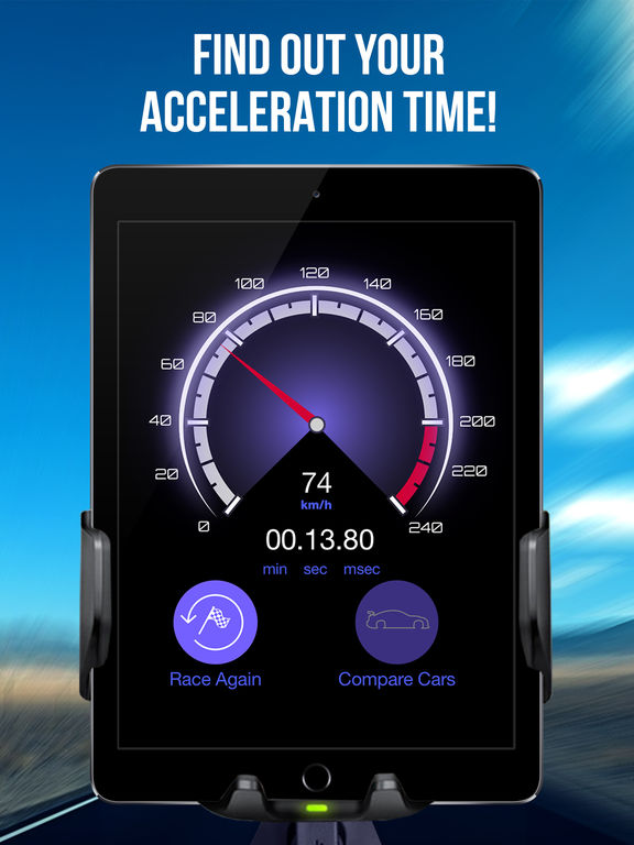 Car Acceleration Measure - Speed Limit Screenshots