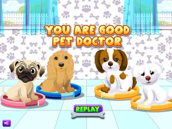 Игра Dog Pet Cares Clinic