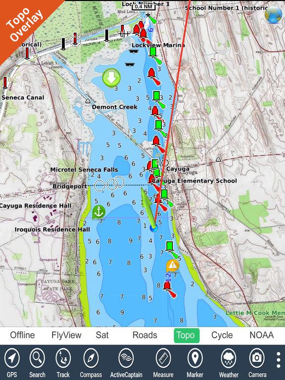 App shopper kentucky barkley lakes hd gps fishing spot for Fishing spots app
