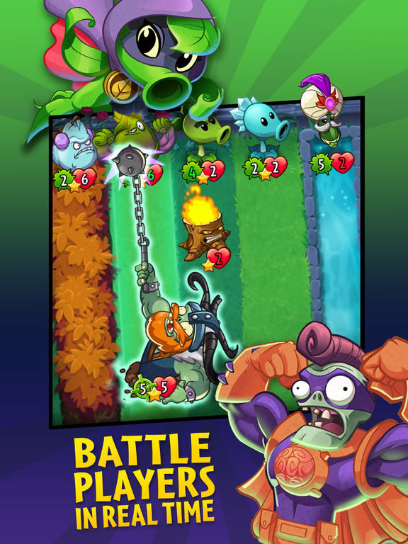 Screenshots of Plants vs. Zombies™ Heroes for iPad