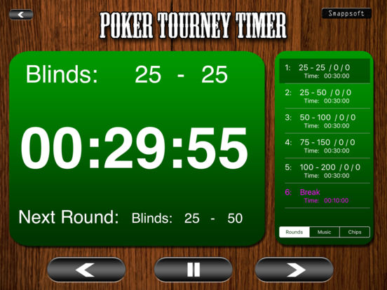 Poker listing tournament clock red hot pokers flowering time