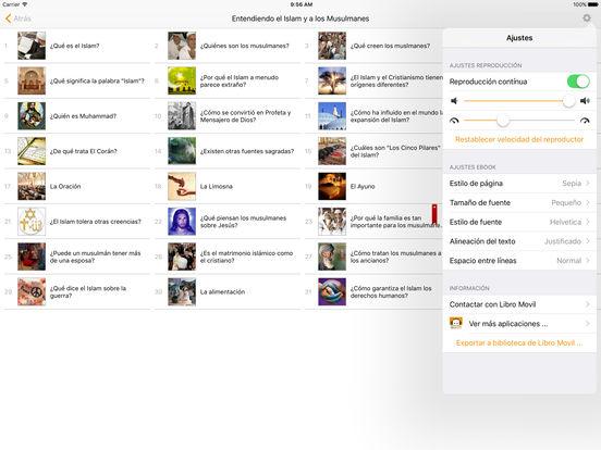 Entendiendo el Islam y a los Musulmanes - Audioebook iPad Screenshot 1