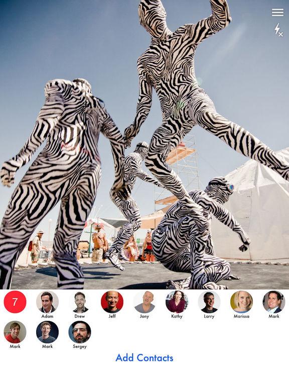 Quikchat Camera messenger Screenshots