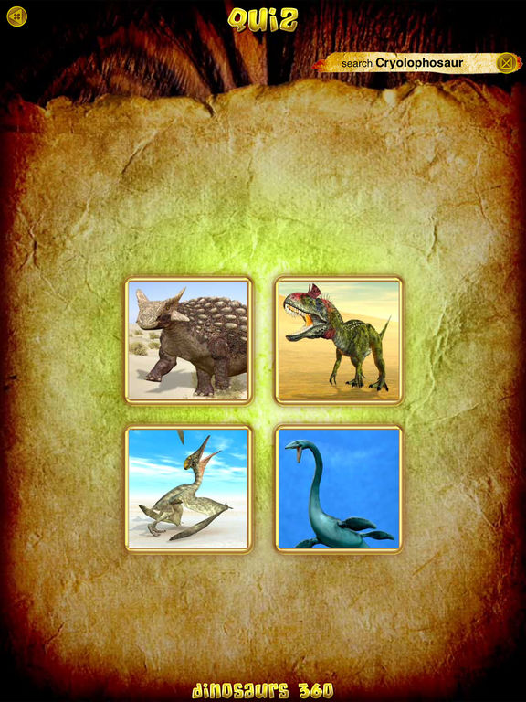 Screenshot #3 for Dinosaurs 360 Gold
