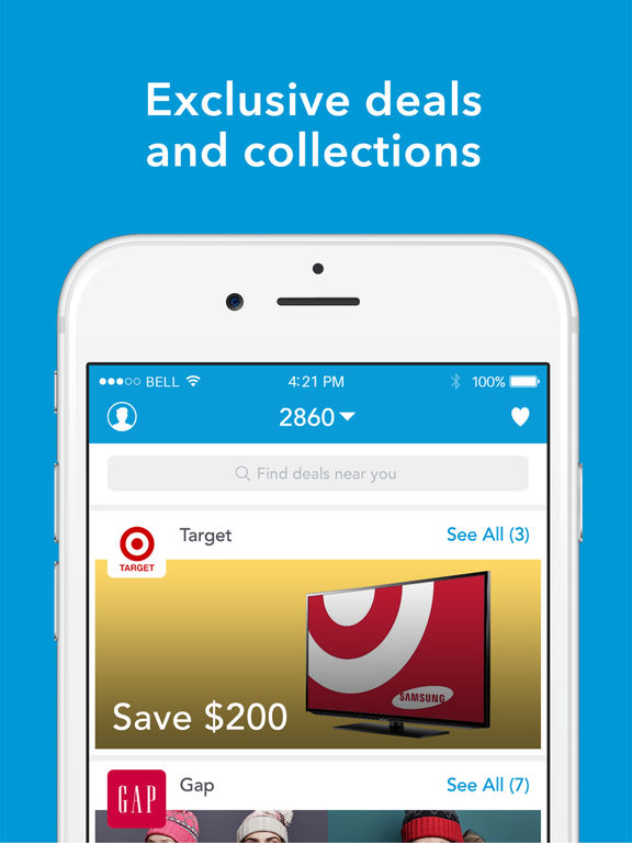 shopkick: Deals and Free Gift Cards For Shopping at Your Favorite Stores screenshot