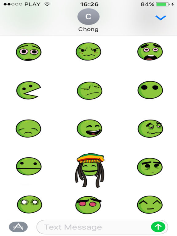 App Shopper: Weed Stickers for Stoners (Stickers)
