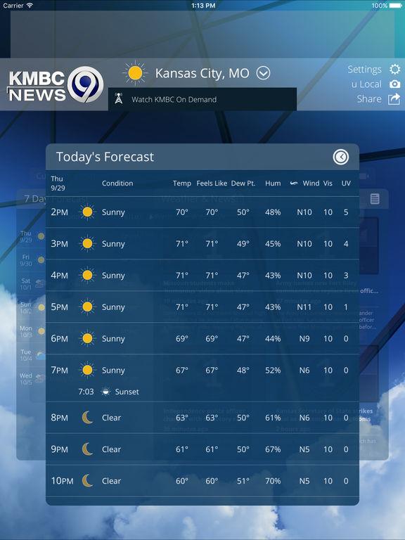 app shopper  first alert weather from kmbc 9 news kansas