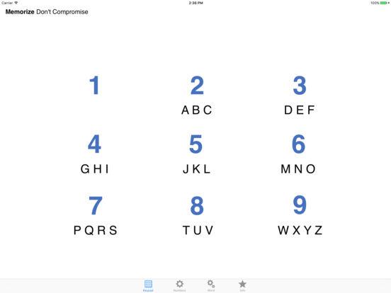 COMBO Keypad iPad Screenshot 3