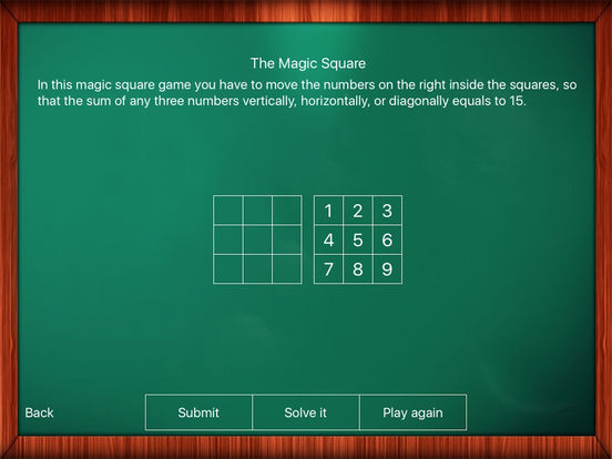 Math Game: The Magic Square Screenshots