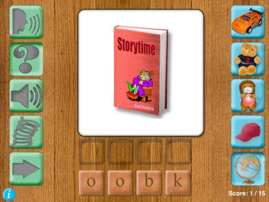 Tabletop First Words iPad Screenshot 4