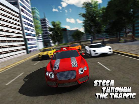 Такси Driver 3D симулятор - Сумасшедший и весело вождение автомобиля и парковка вызов игры Скриншоты8