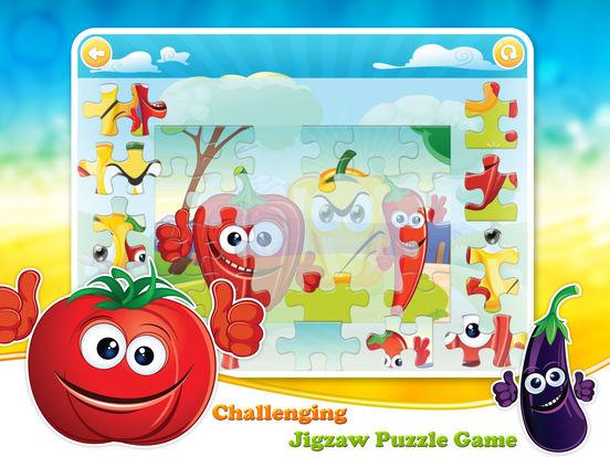 Veggies & Fruits: kids educational games - Englishscreeshot 5