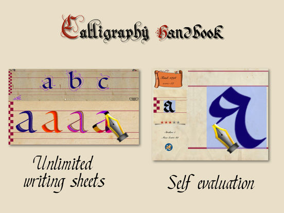 Calligraphy Handbook 2.1 leads to more creativity Image