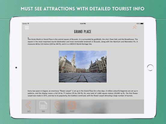 Brussels Travel Guide iPad Screenshot 3
