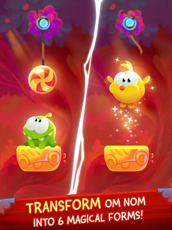 Screenshot #1 for Cut the Rope: Magic