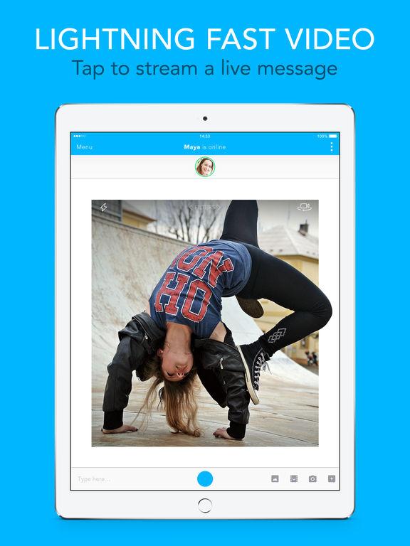 Glide - Live Video Messaging, Chat & Text screenshot