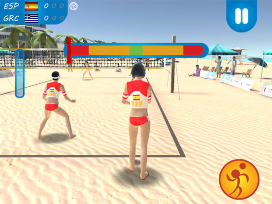 Beach Volleyball 2016 на iPad