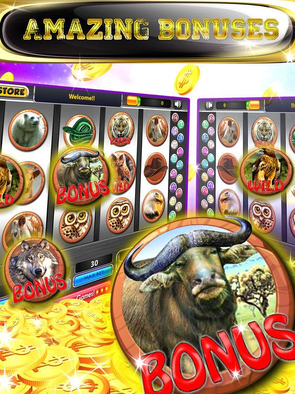 Play buffalo slot machine for fun