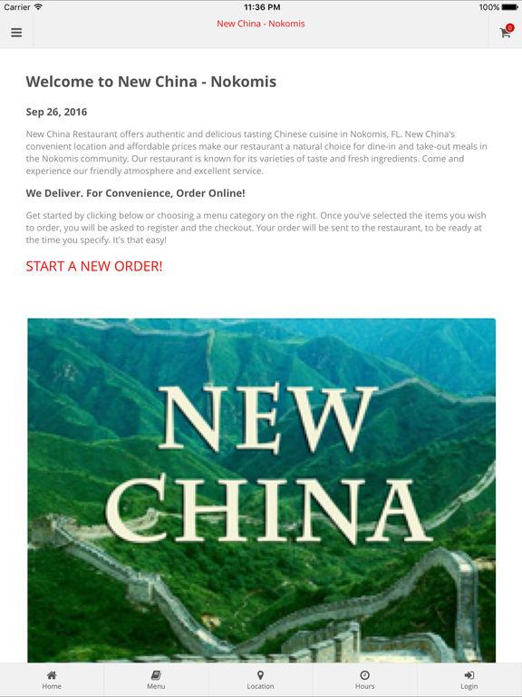 App Shopper: New China - Nokomis (Food & Drink)