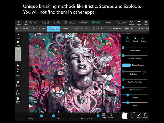 iColorama - Photo Editor and Brush Painter Screenshots