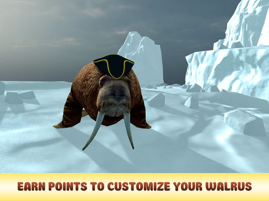 Arctic Walrus Survival Simulator 3D Full Screenshots