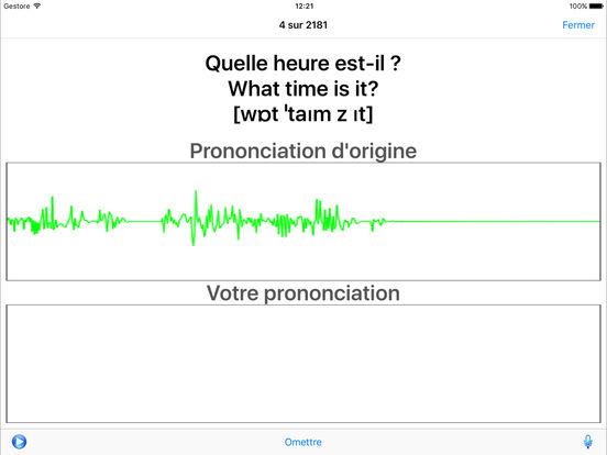 Coach linguistique iPad Screenshot 3