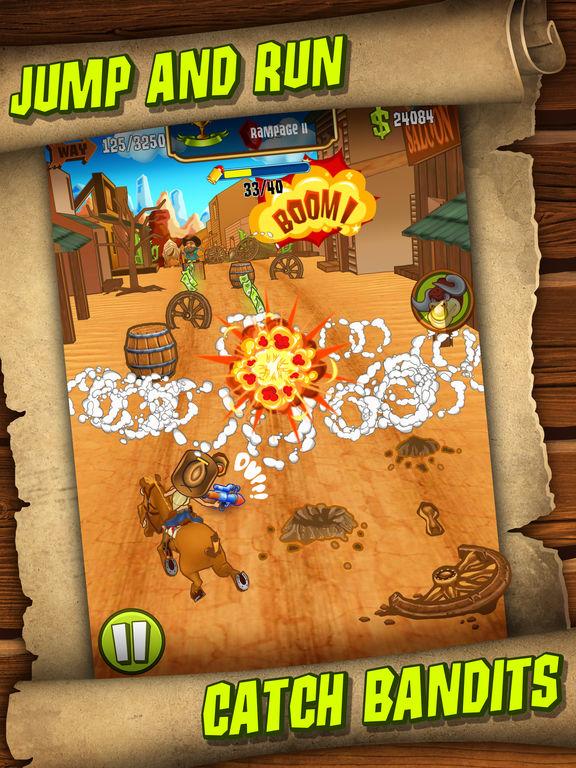 Shoot and Run: Western Runner Game на iPad
