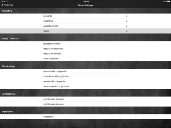 Conjugation Nation Italian iPad Screenshot 4