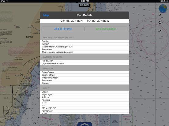 Miami to Key West HD - Water Map Navigator iPad Screenshot 2