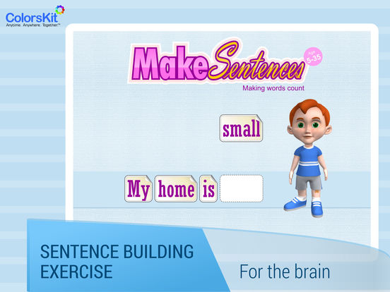 Make Sentences - Age 5-35. Screenshots