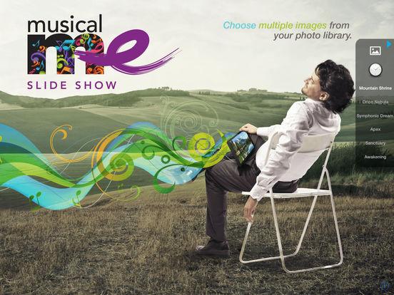 MusicalMe Slide Show Screenshots