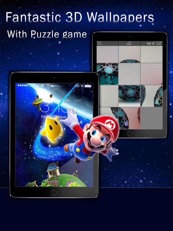 3D Retina Wallpapers Pro Screenshots