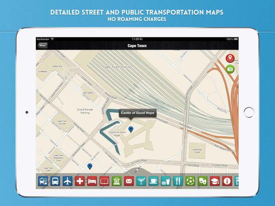 Cape Town Travel Guide iPad Screenshot 4