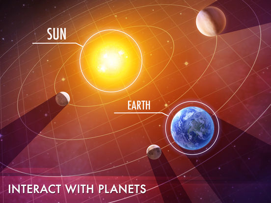 3D Solar System For Kids - Stars And Planetsscreeshot 1