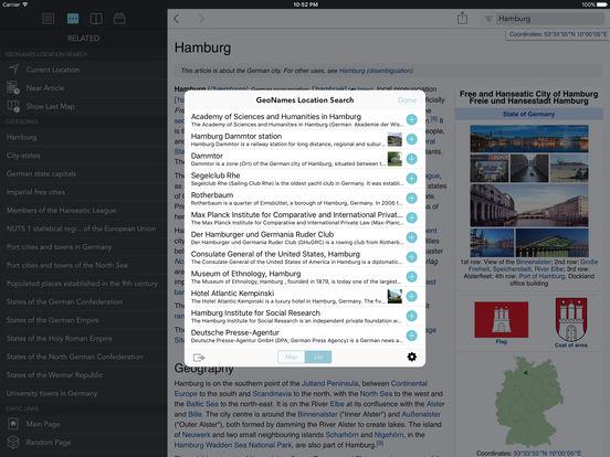 Wikipanion Plus for iPad iPad Screenshot 4