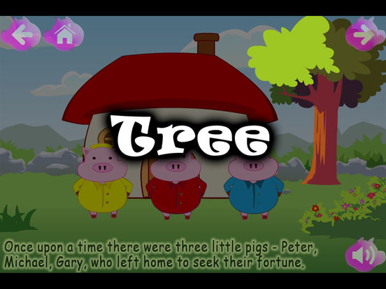 The Three Little Pigs (Kids Story Book) iPad Screenshot 3