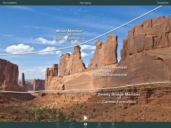 Arches National Park Geology Tour iPad Screenshot 3