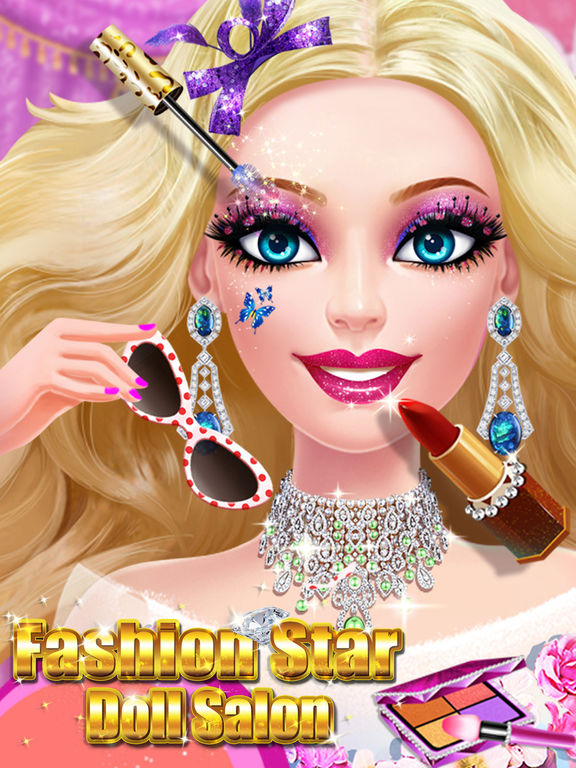 App Shopper Doll Fashion Salon Girl Makeup Dress Up