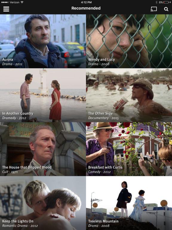 Fandor - Stream 6,000+ award-winning movies screenshot