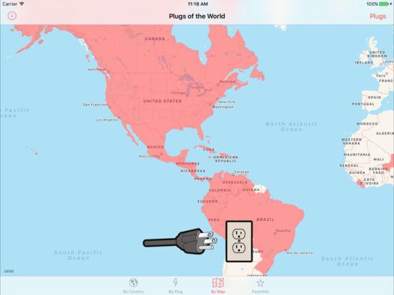 Plugs of the World iPad Screenshot 4