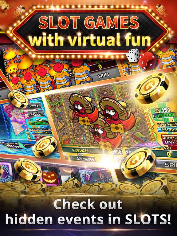 Social slot casino