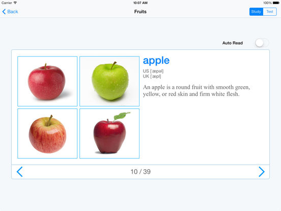 English Baby iPad Screenshot 3