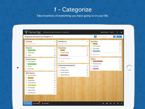 App Shopper Planner Pads Organizer App Business