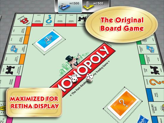 MONOPOLY for iPad Screenshot