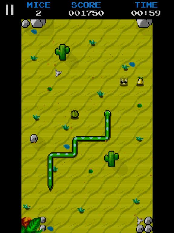 Classic Snake Game Snake Mice Hunt...