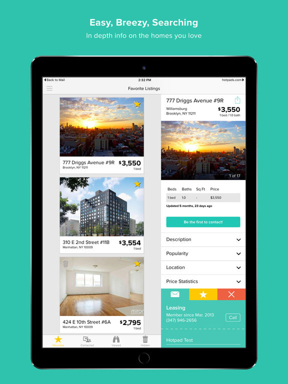 HotPads Rentals & Real Estate screenshot