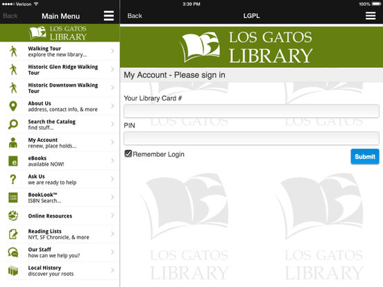 LGPL iPad Screenshot 4
